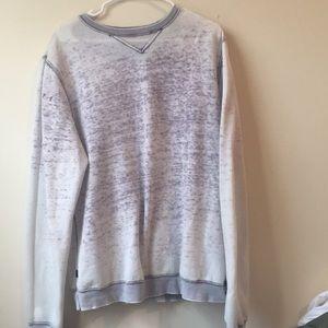 Bleached Soft Crew Neck Sweatshirt